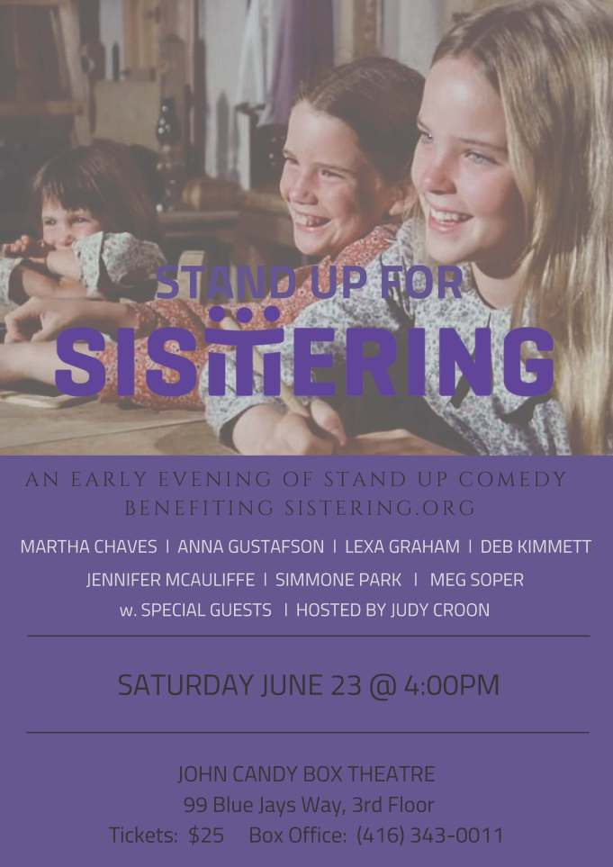 STAND UP for SISTERING poster